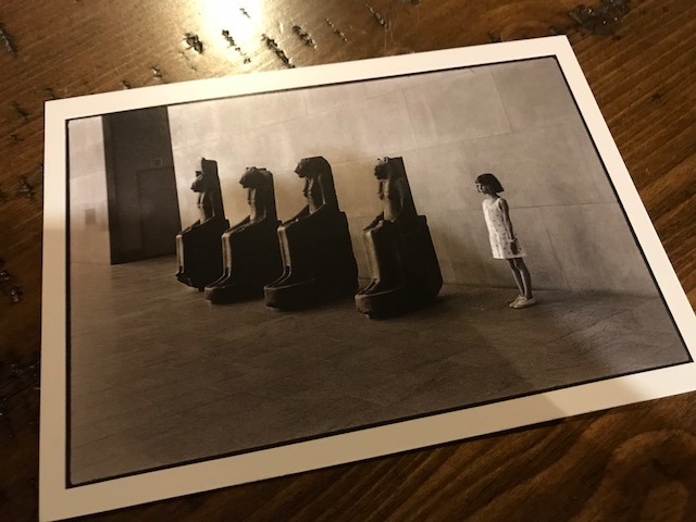 POSTCARD #4:  The Metropolitan Museum of Art, 1988 by Elliot Erwitt