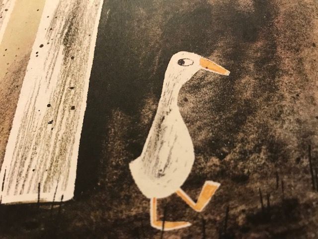 4. Prove you're not a quack — what picture book did this guy escape from?