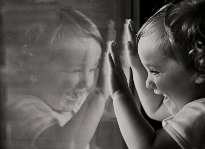 black-and-white :     (via  Laughing Portraits By Monika Zborowska )