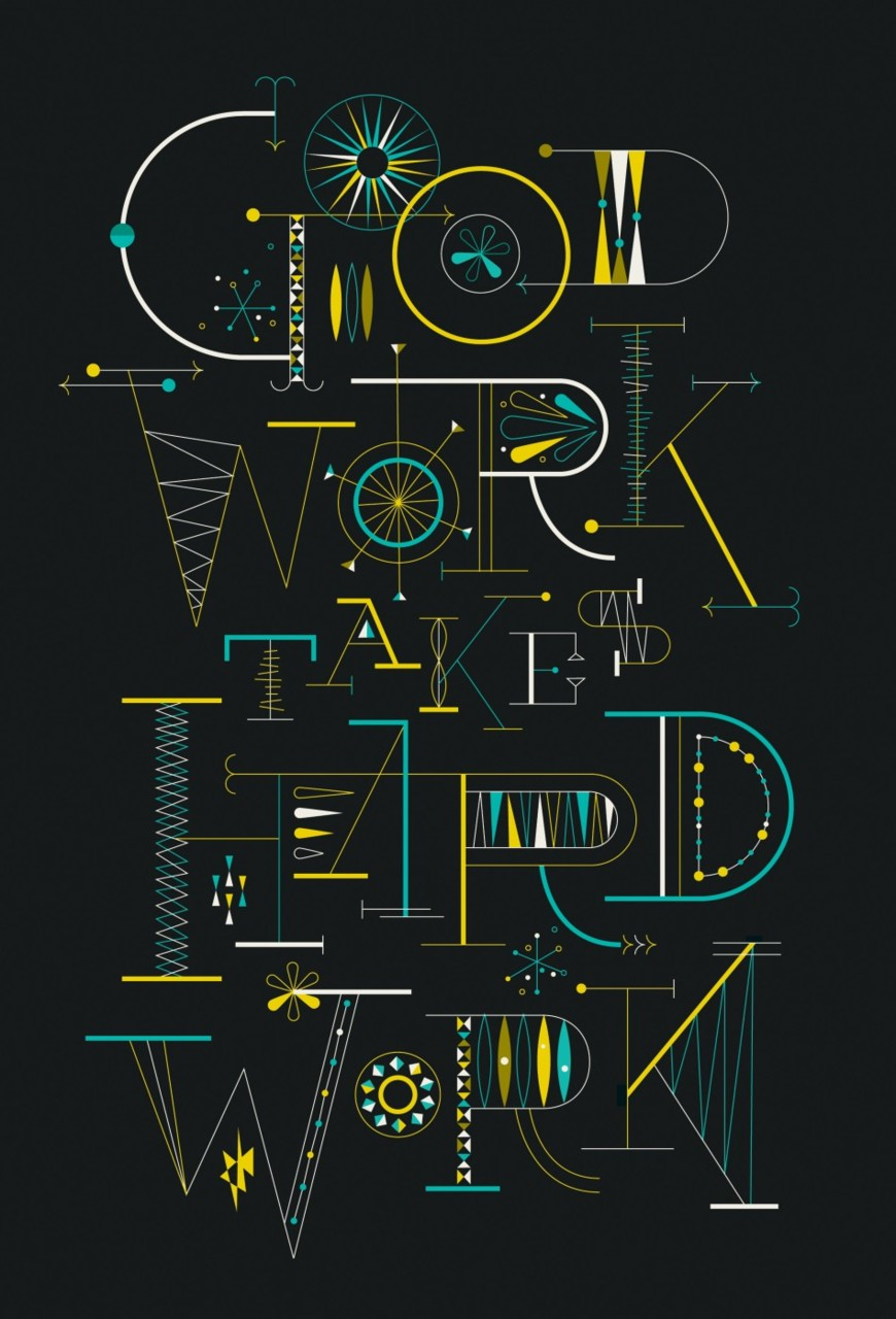 ~Good work takes Hard work~ Designed By Brent Couchman