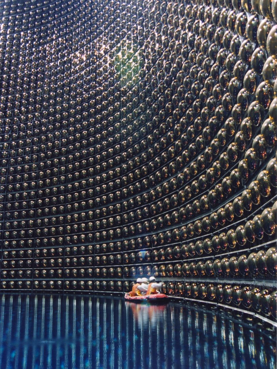 kateoplis :       Super-Kamiokande  Neutrino detection  facility , 1,000m underground in Hida City, Japan