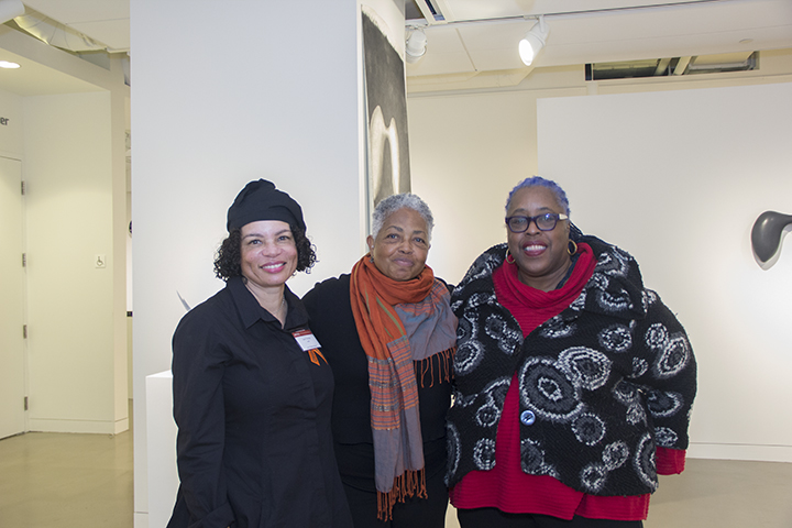 With Lizetta LeFalle-Collins and Mildred Howard
