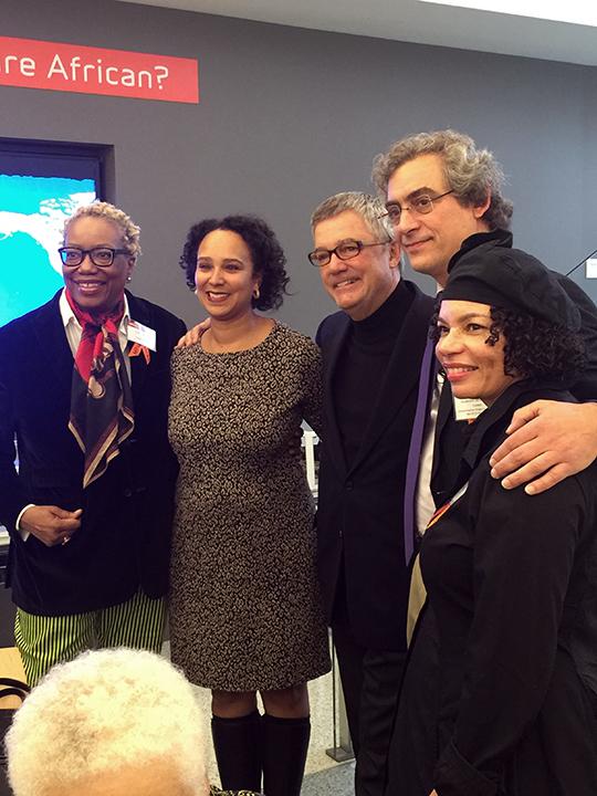 With Linda Harrison, Naomi Kelley, Wade Rose and Alejandro de la Fuente