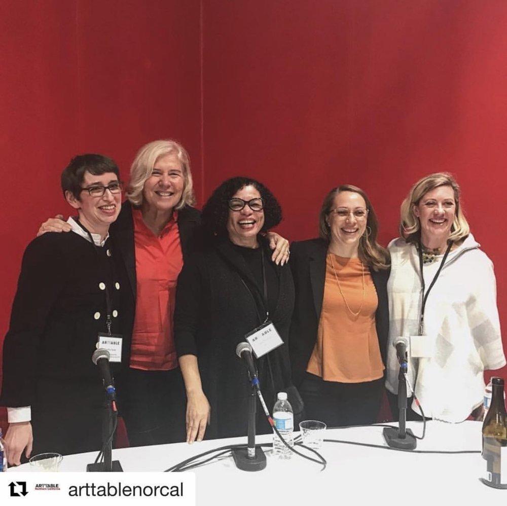 Dorothy Davila, S. Sayre Batton, Lava Thomas, Apsara DiQuinzio, and Patricia Maloney.