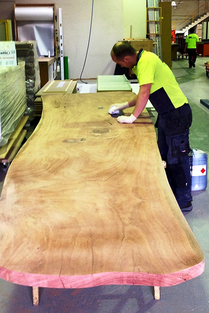 Working with solid timber