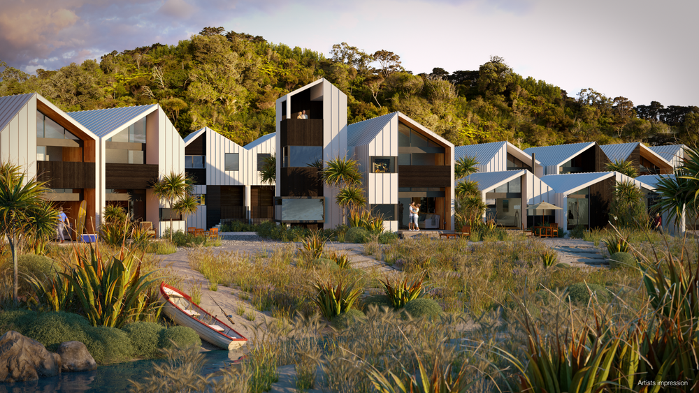 Boathouse Bay   Architectural Renders