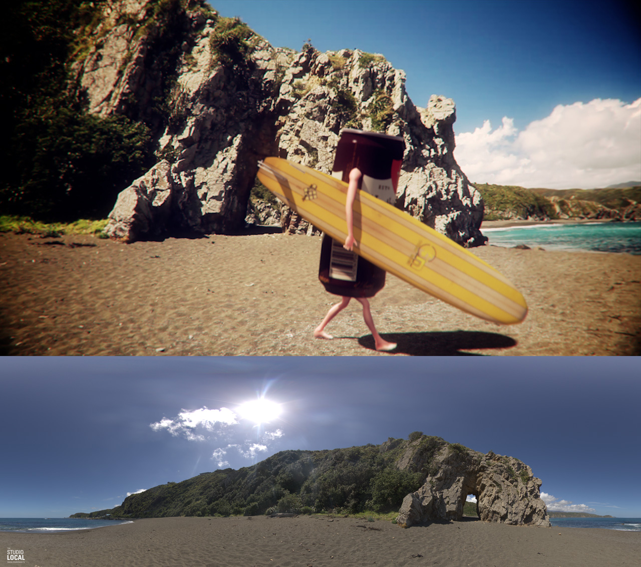 Free HDRI - Breaker Bay - Wellington New Zealand — studio local