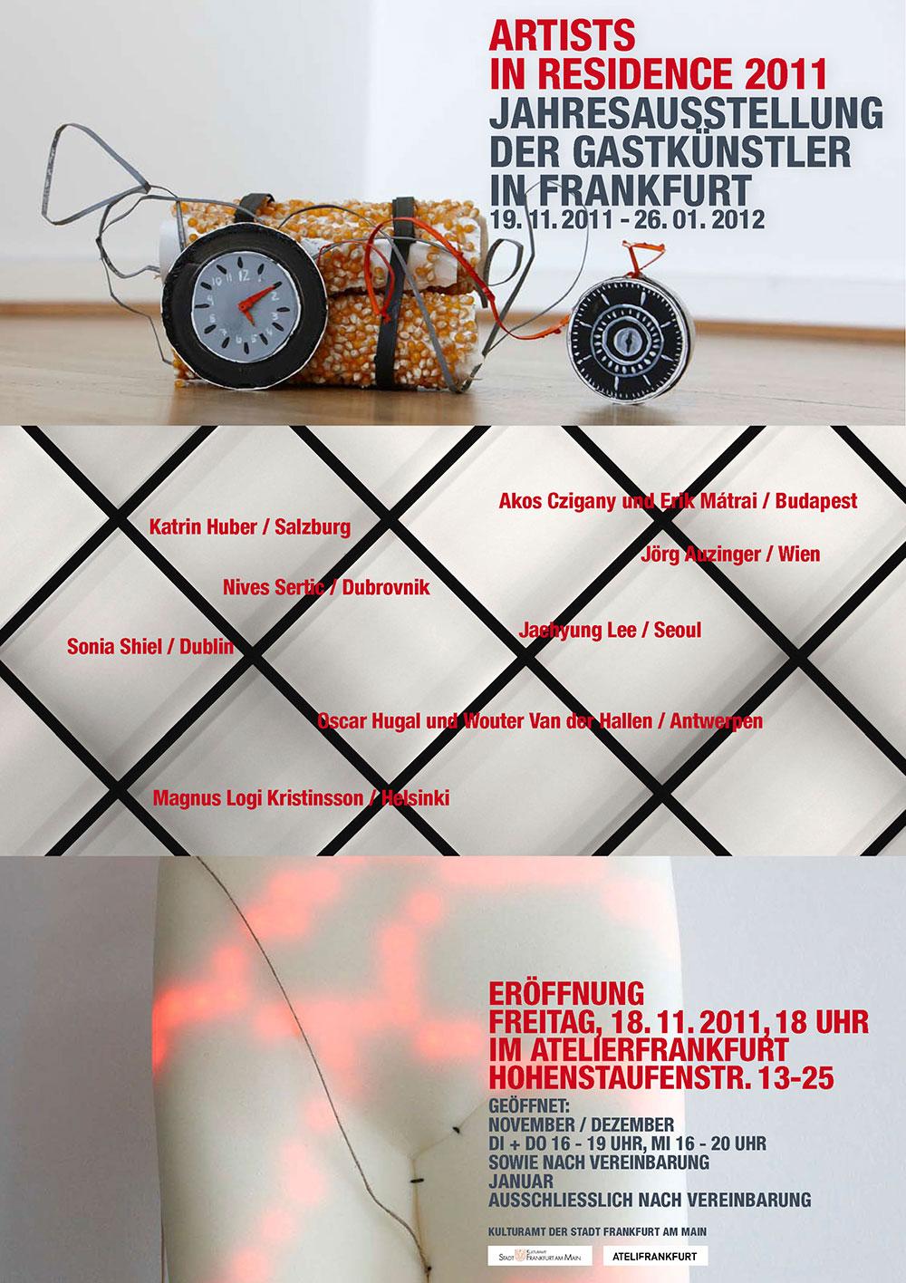 Exhibition poster design.