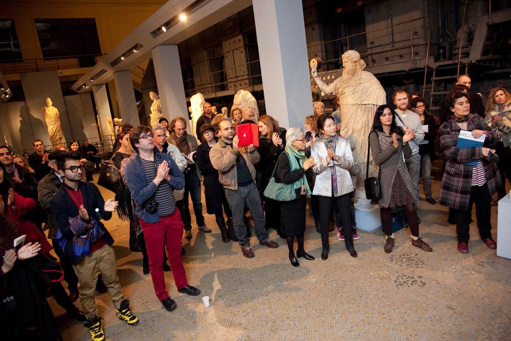 Award ceremony. Photo byMichela Del Forno .