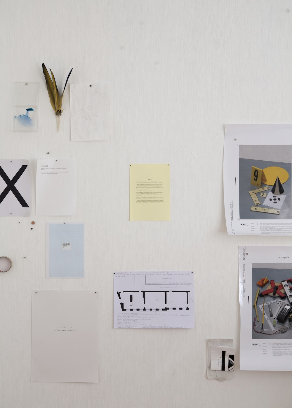 Installation view  Idea N°25 .