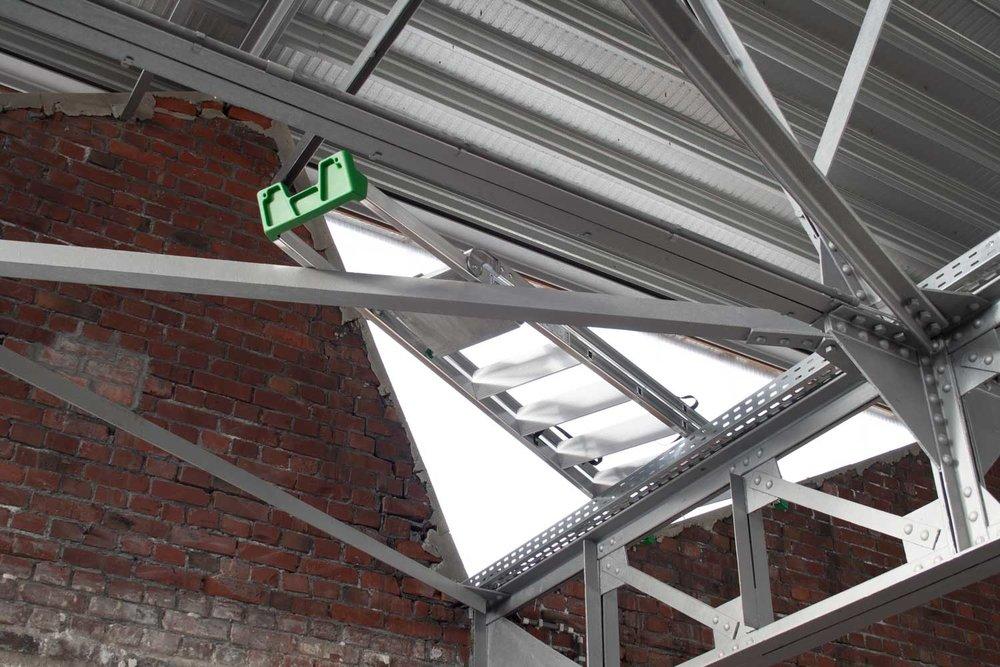 Installation view at Open Studios RAVI.