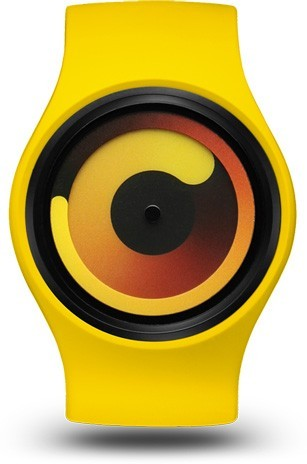 Ziiiro Unisex Gravty Banana watch