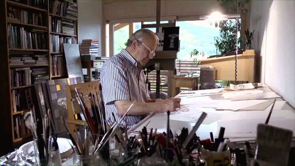Portrait eines Malerpoeten