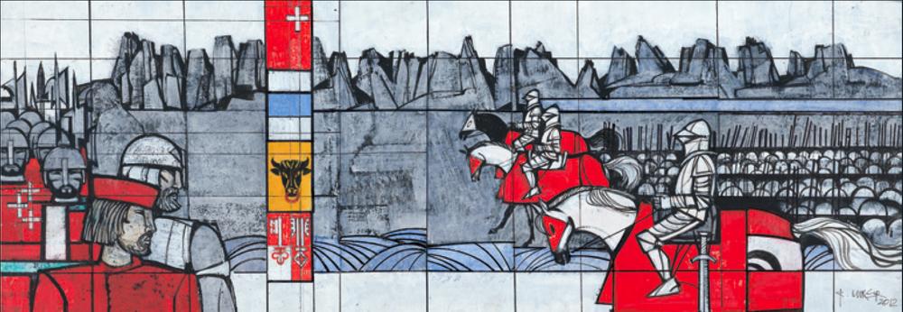Die Schlacht am Morgarten