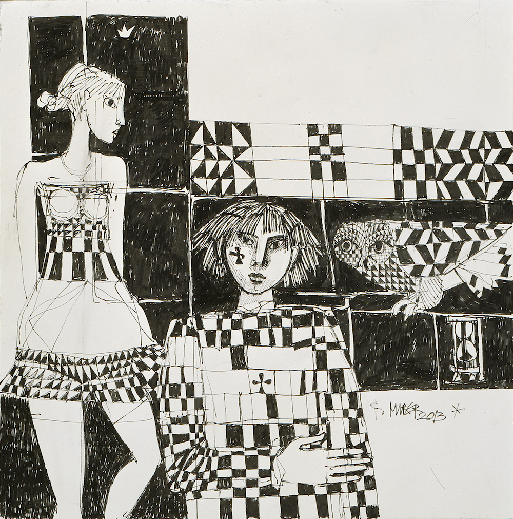 Künstlerpaar, Nr. 1234