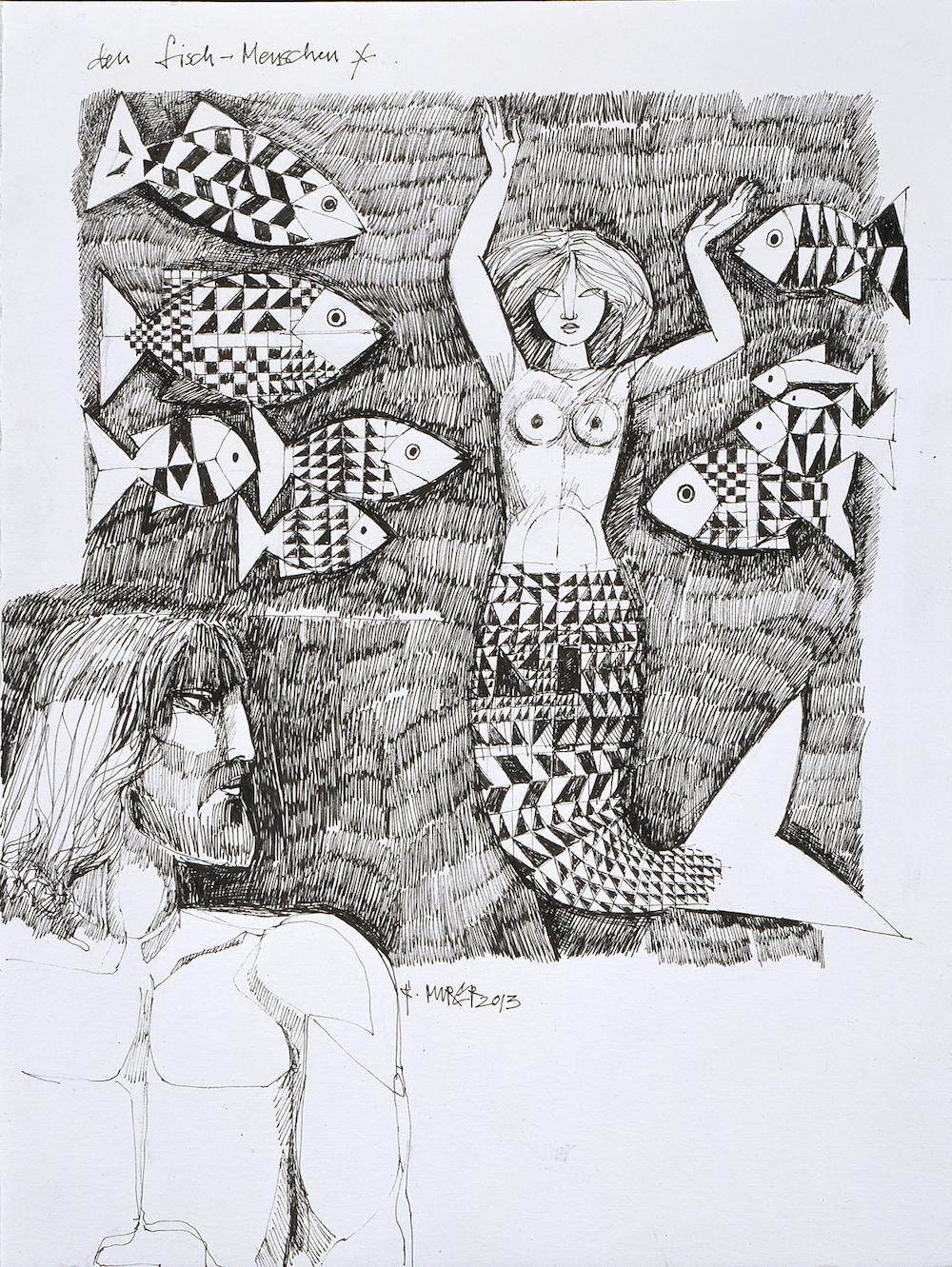 den fisch-menschen, Nr. 1233