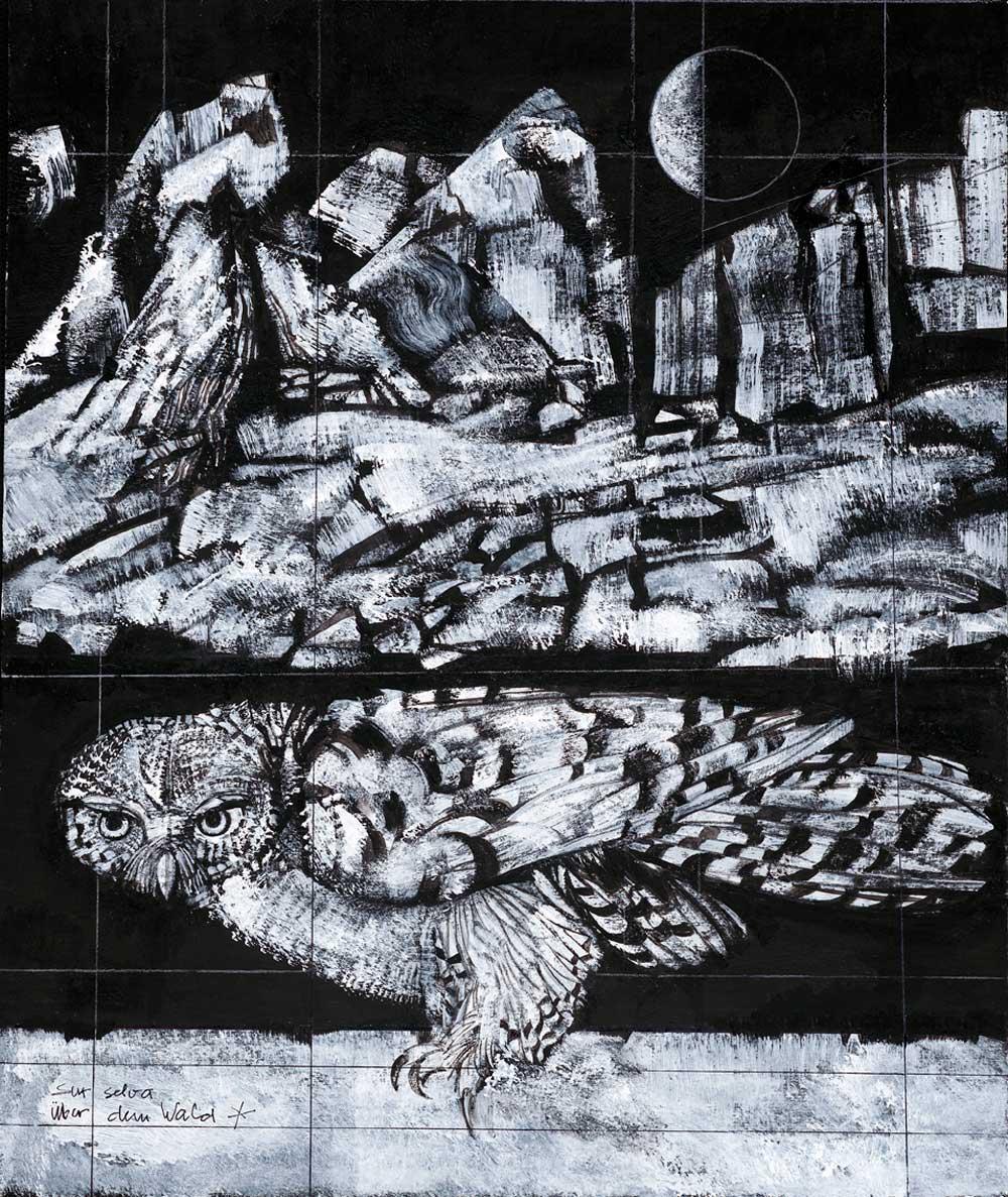 Sur Selva-über dem Wald, Nr. 1258