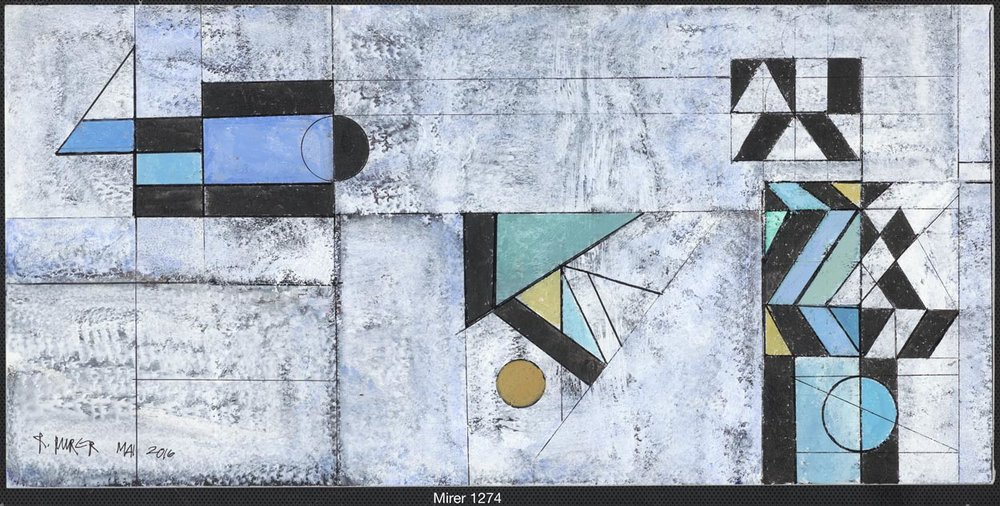 Abstraktion Mai, Nr. 1274