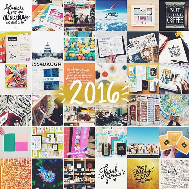 Happy 2017, everyone! Instead of a Best Nine, I'm doing a Random 36 (a screenshot from the 2016 view in the Momento app) — a mix of highlights and everyday adventures. A highlight for sure is the Adobe Creative Residency — I owe so much of this year's comfort-zone stretching and I-can't-believe-this-is-happening moments to this awesome opportunity. Think my favorite part is still all the amazing people I've gotten to meet and work with.