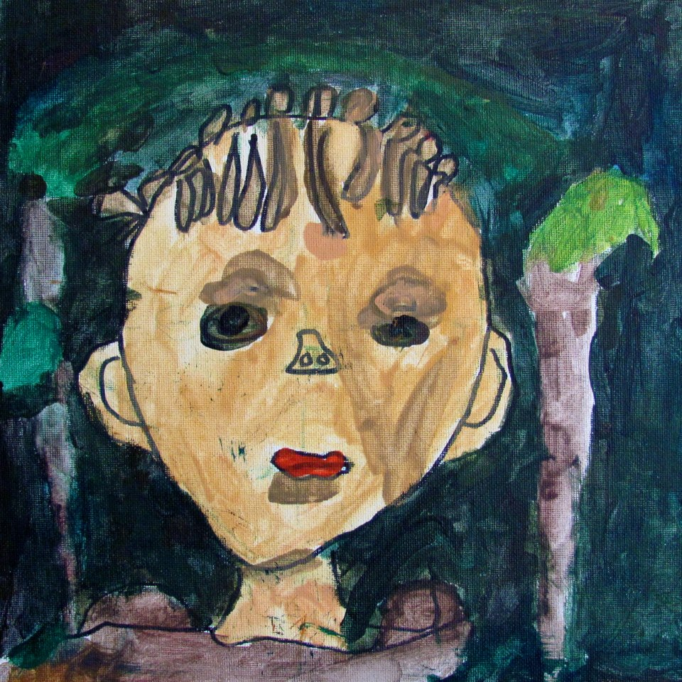 First Grade Self-Portrait