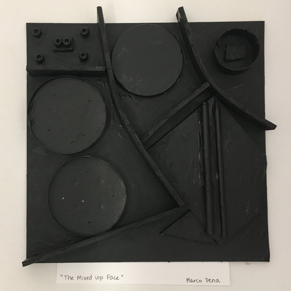 First Grade Louise Nevelson-Inspired Assemblage
