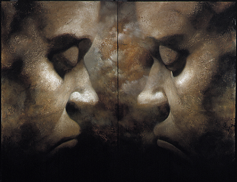 Beethoven's Death Mask Variation VII -1999