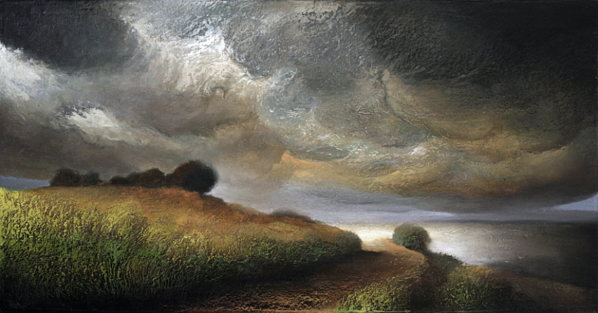 Wind Over a Coastal Path - 2007