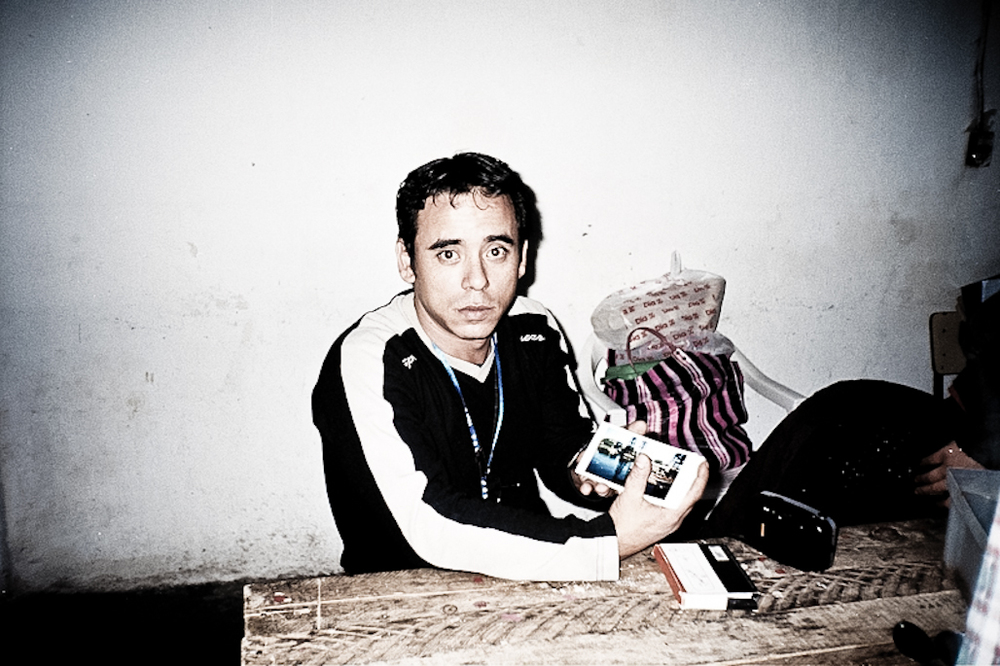 Juan Carlos, participant in Los Pibes photography workshops, Buenos Aires, 2007