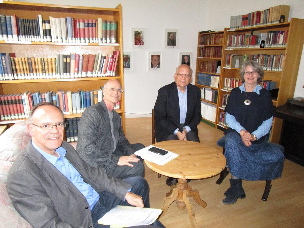 TCMI Vorstand zu Besuch in Tübingen