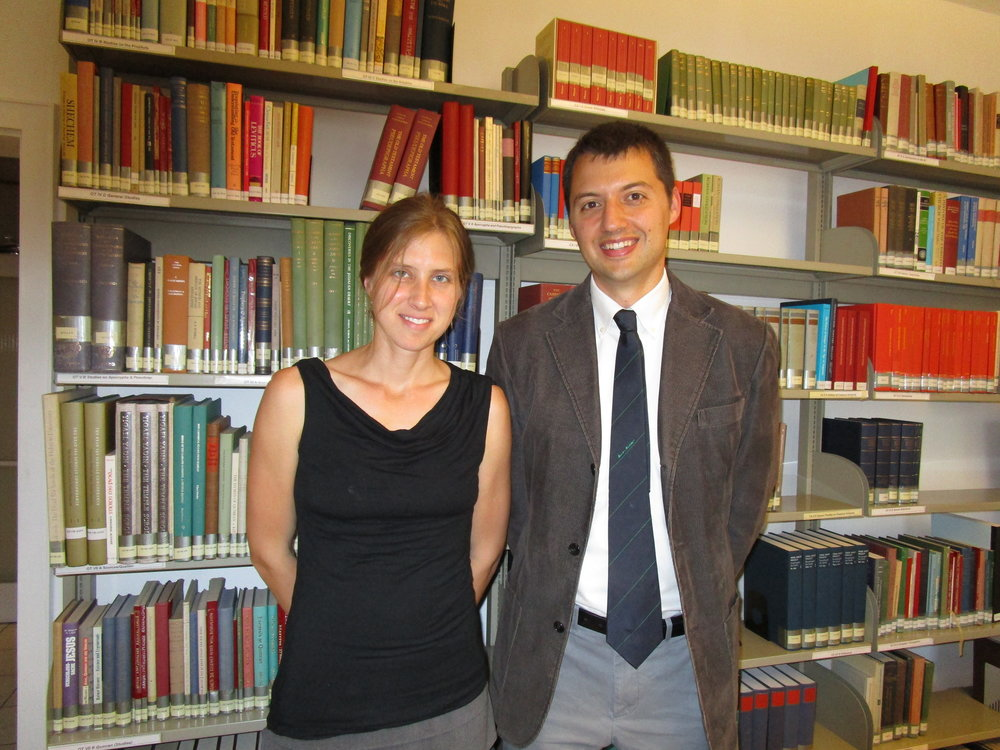Sarah and Daniel Smith at the Institute July 2017