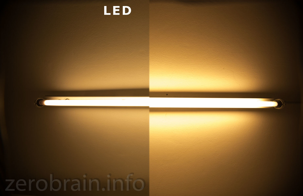 alte r hre durch led ersetzen osram substitube gegen auralum zerobrain. Black Bedroom Furniture Sets. Home Design Ideas
