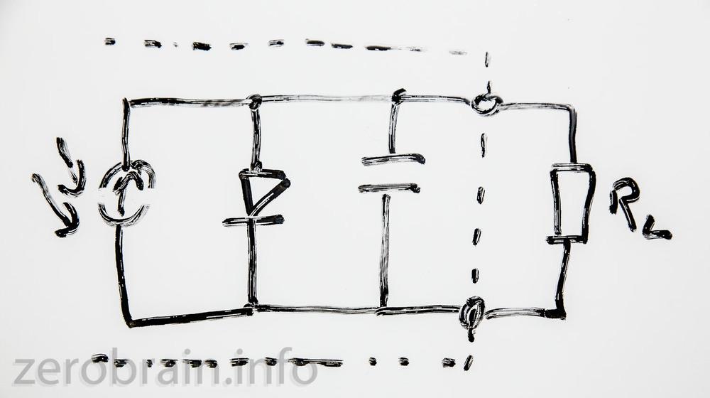 Ersatzschaltbild der Fotodiode