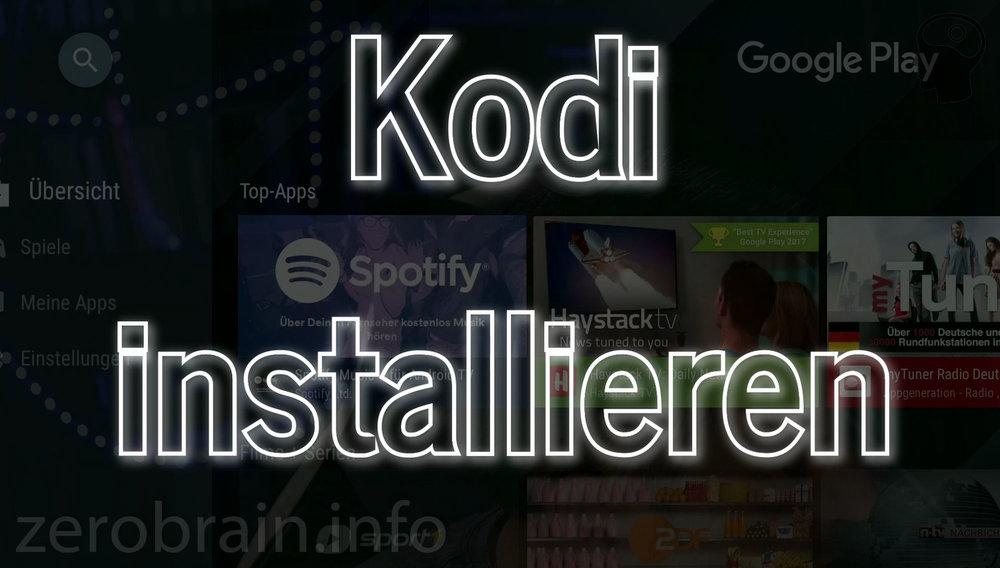 Nvidia Shield: Die Installation von KODI als Mediaplayer