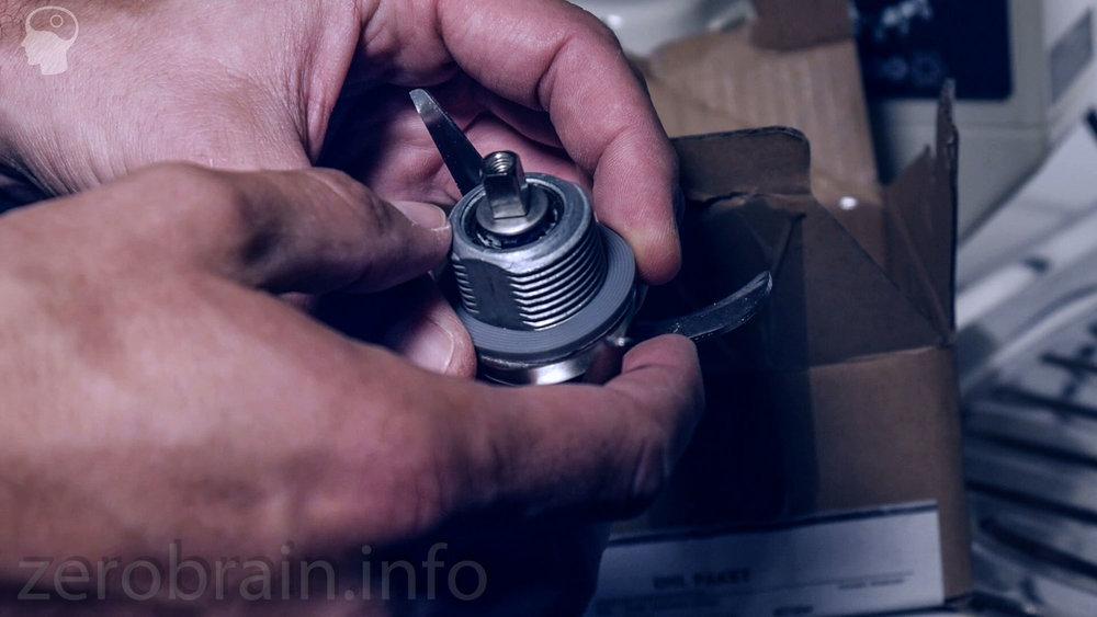 Ersatzmesser Thermomix 3300 - nach der Zerstörung in der Spülmaschine