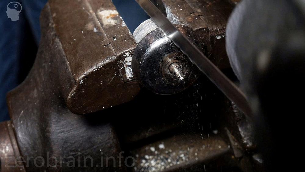 Messerlager des Thermomix - solide gebaut