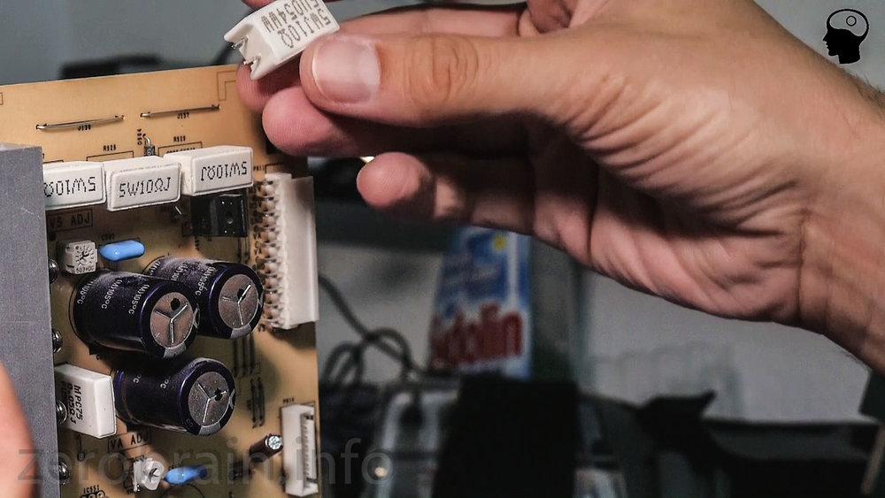 Jetzt geht der LG Plasma Fernseher nicht mehr aus: Repariertes Netzteil