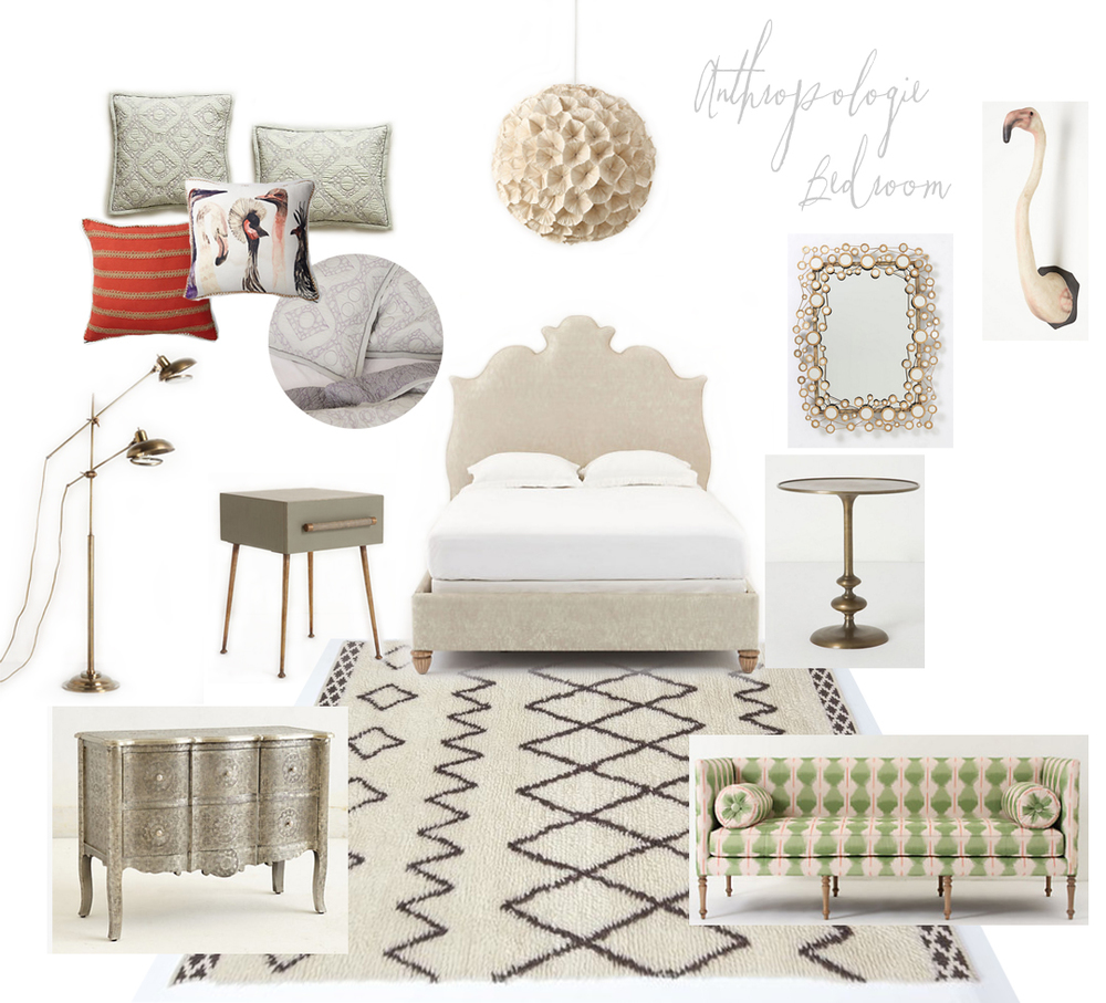 Look #3 I Would Say Is The Most Classic Anthropologie In Style, With Lots  Of Texture And Details. I Am Majorly Obsessed With That Sisu Nightstand.