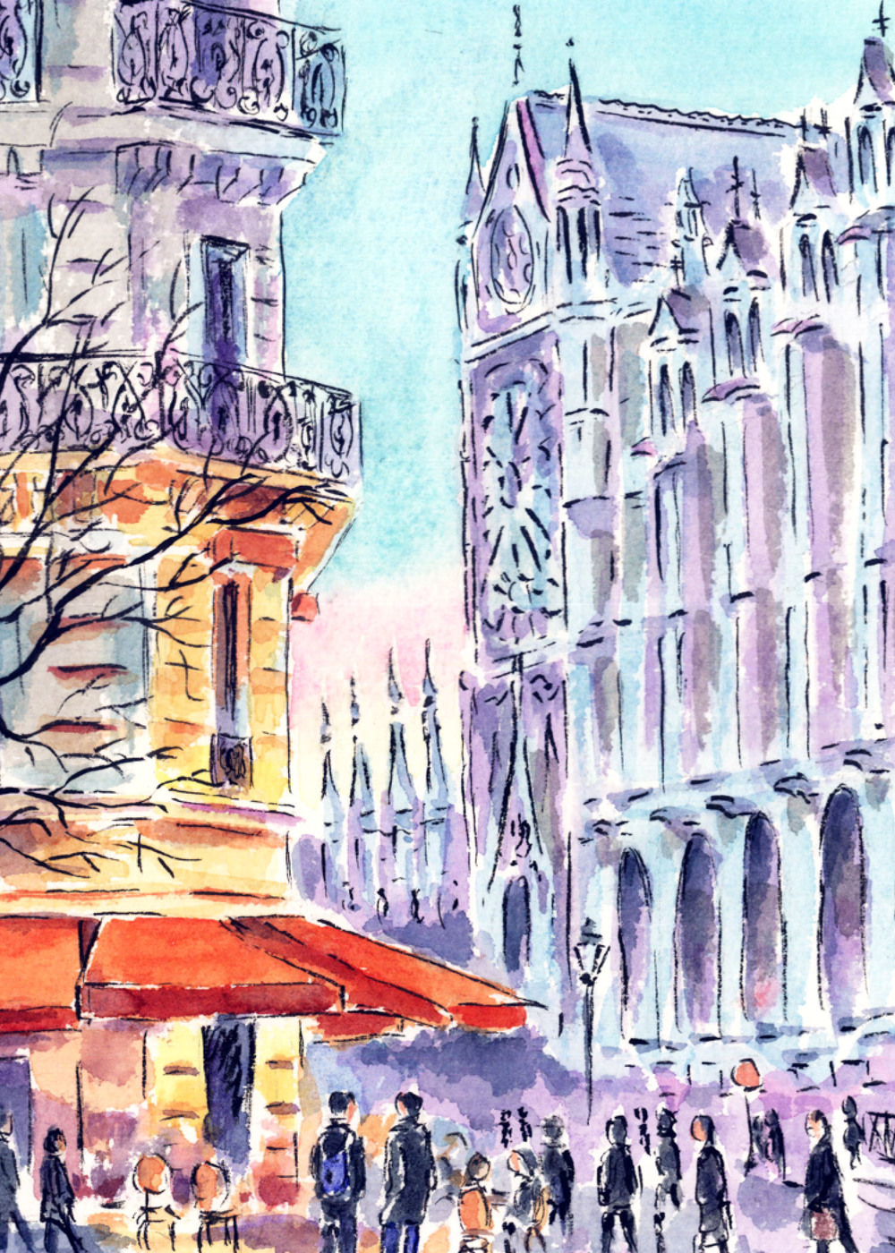Notre Dame and Corner Bistro