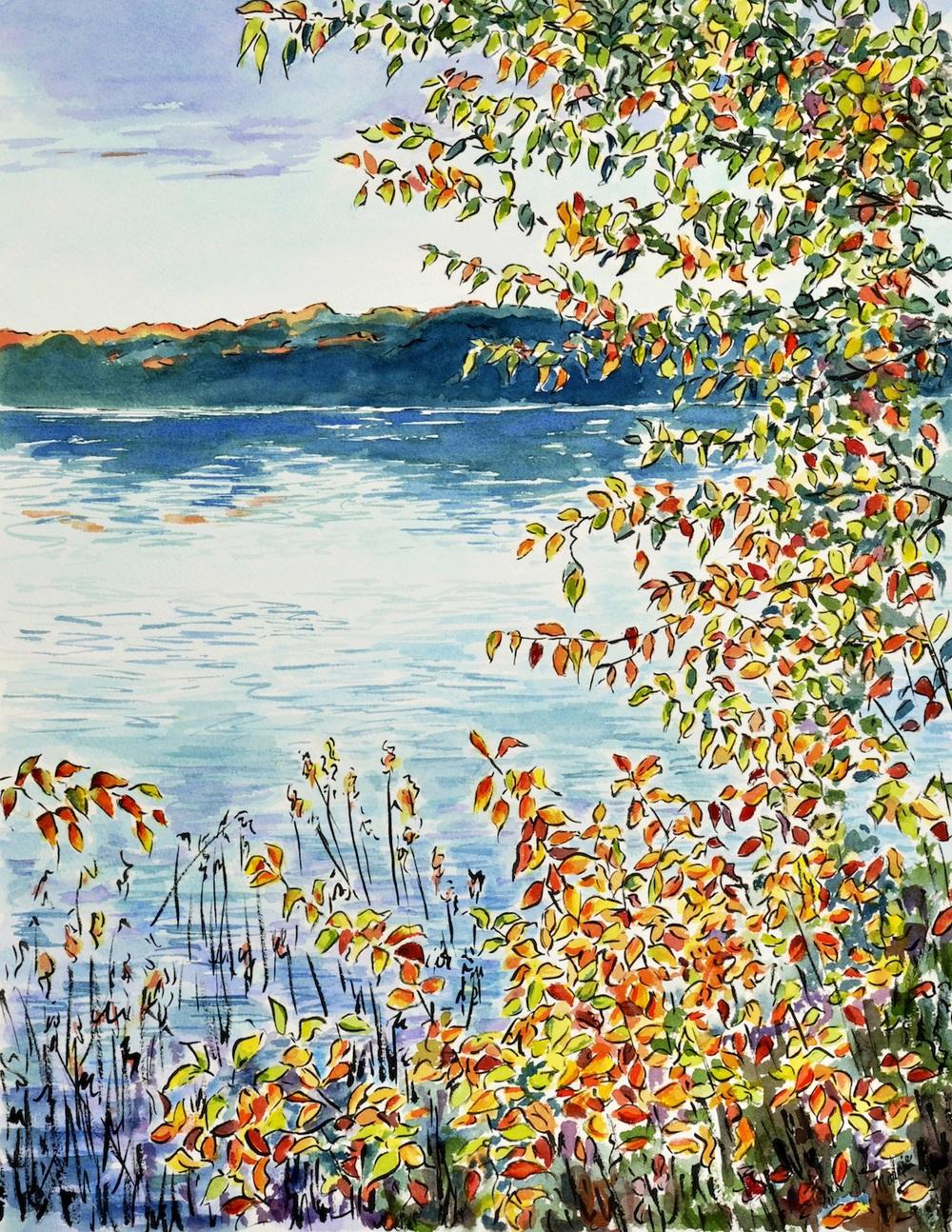 Beaver Lake in Autumn
