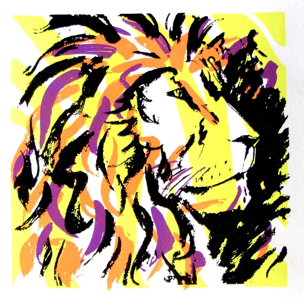 lion silk screen4.JPG