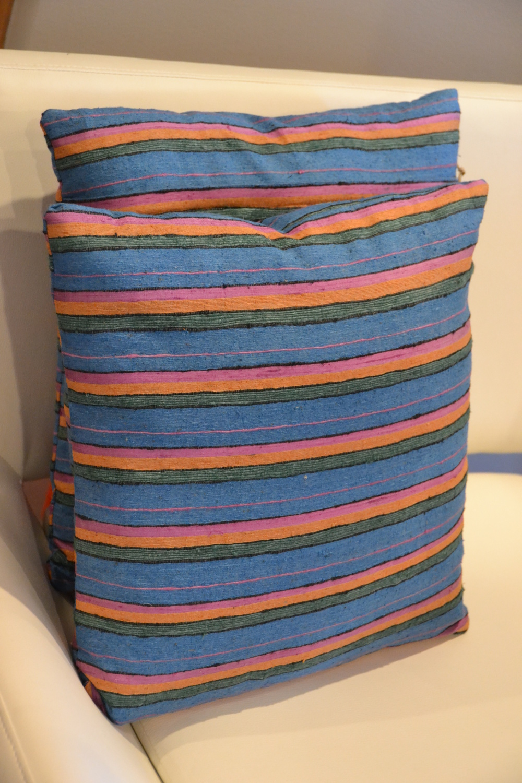 """Kissen""  Pillow Play in Santa Fe - An interior & fashion design collaboration"