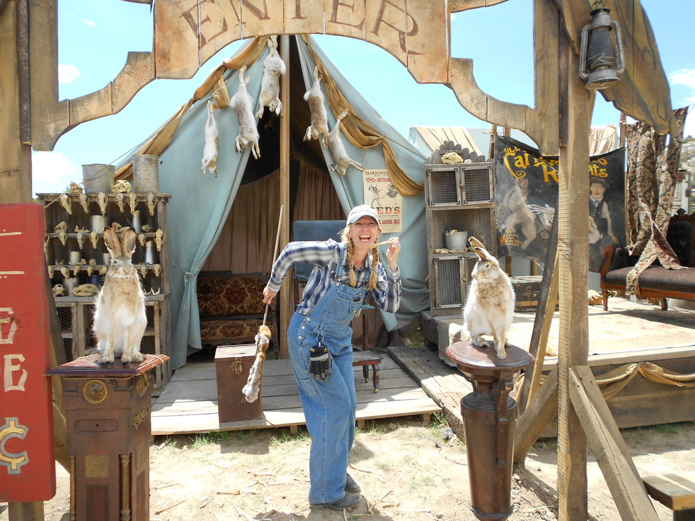 "On the set of ""The Lone Ranger"""