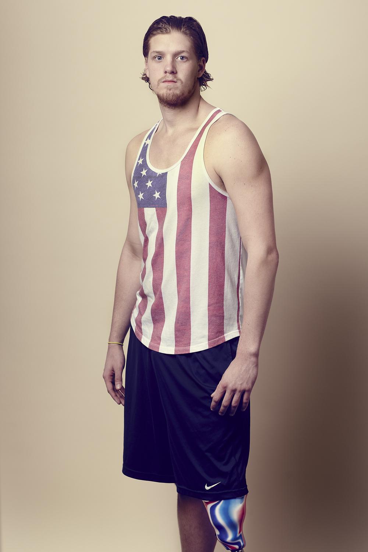 U.S. Paralympic Swim Team Dalton Herendeen