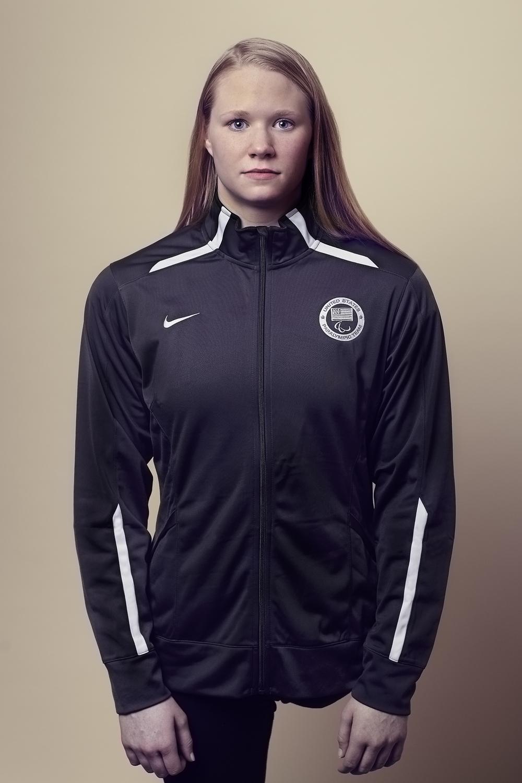 U.S. Paralympic Swim Team Hannah Aspden