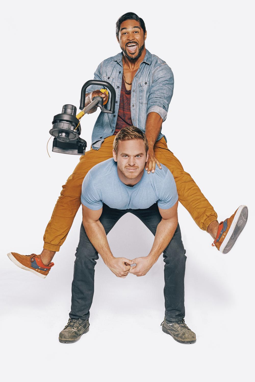 TV Personalities and Renovators Mike Holmes Jr. & Sebastian Clovis
