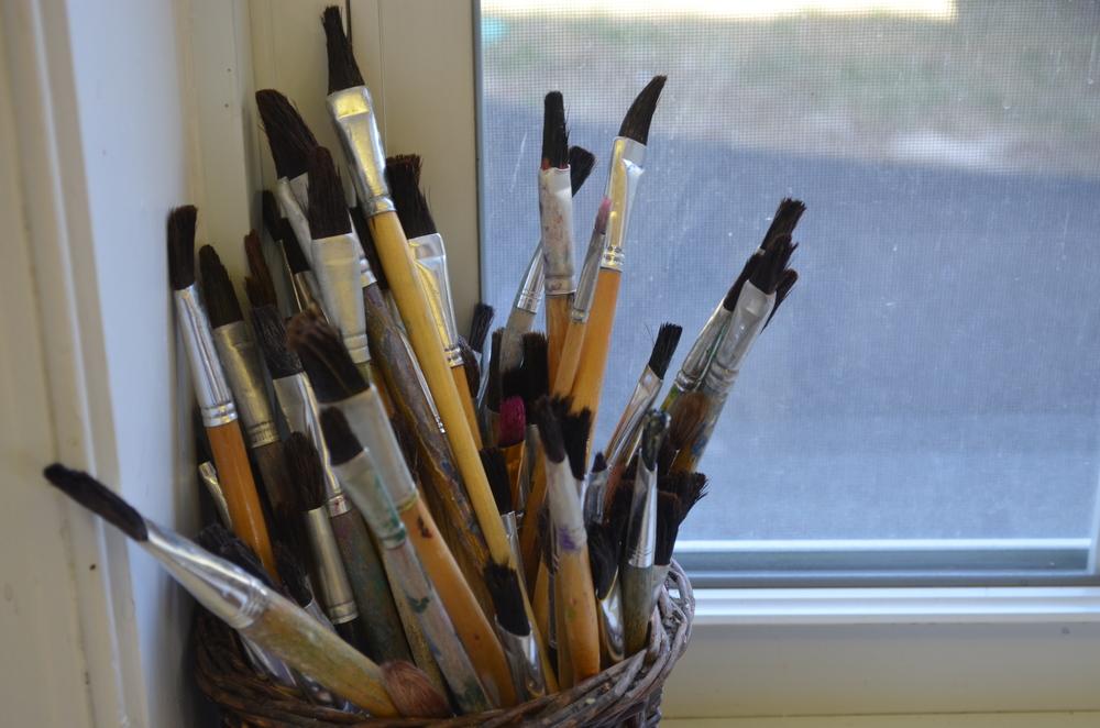 Art supplies are an essential figure in all ECC classrooms