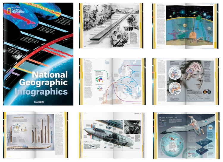 Read more about National Geographic Infographics via the TASCHEN website (or this recent write-up in Wired), and order your copy today!