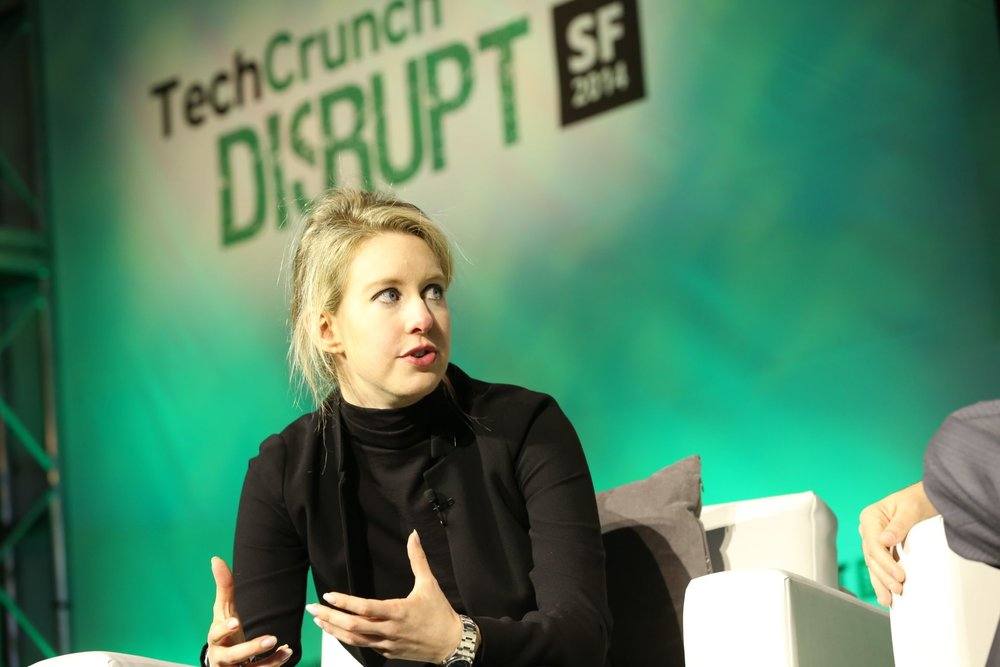 Elizabeth Holmes @ Tech Crunch Disrupt Conference