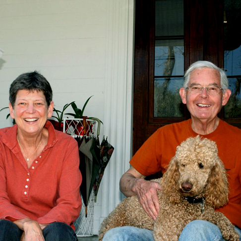 Garden Owners, Robert & Suzy Currey