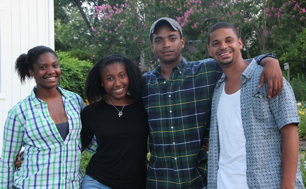 Shanice, Danielle, Malik and Mike were the four interns who stayed for the entire four weeks of the program.